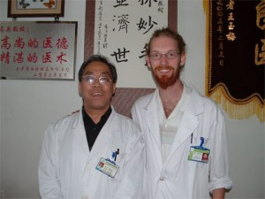With Dr. Ma in Shenyang, China